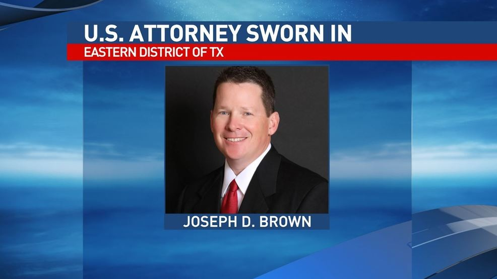 Brown sworn in as U S  Attorney for Eastern District of